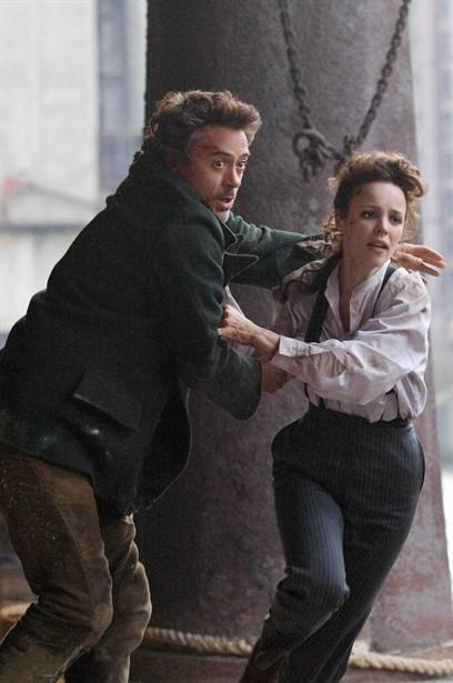 Rachel McAdams,Robert Downey Jr.