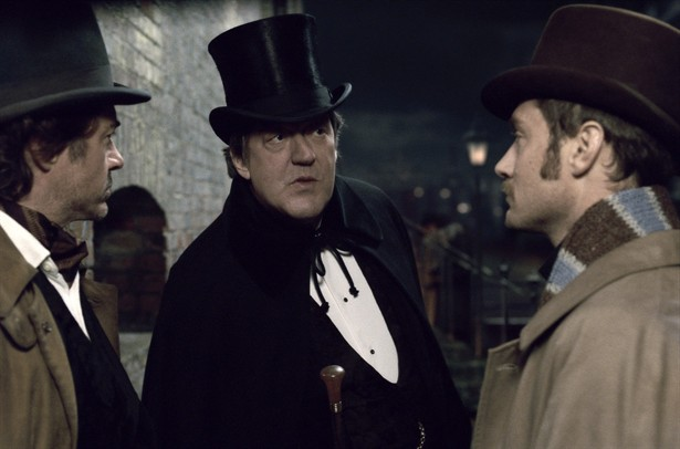 Jude Law,Robert Downey Jr.,Stephen Fry