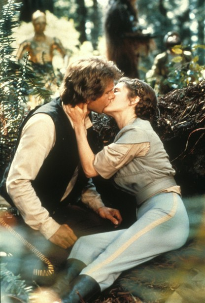 Carrie Fisher,Harrison Ford