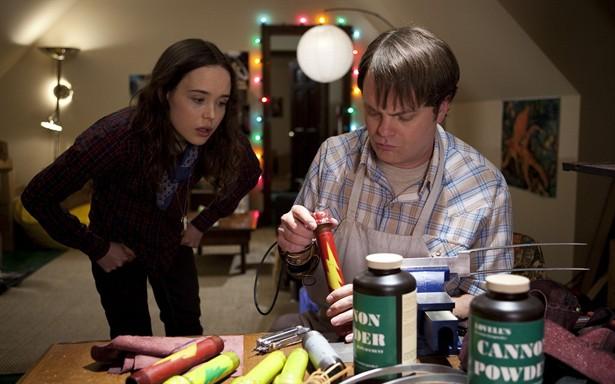 Ellen Page,Rainn Wilson