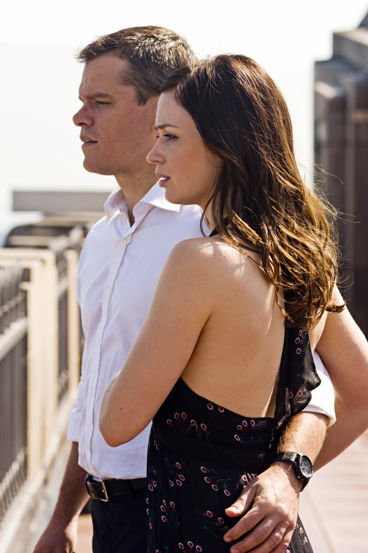 Emily Blunt,Matt Damon
