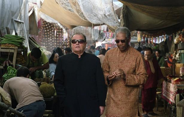 Jack Nicholson,Morgan Freeman