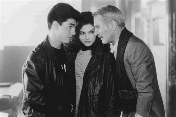 Mary Elizabeth Mastrantonio,Paul Newman,Tom Cruise