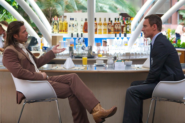 Brad Pitt,Michael Fassbender