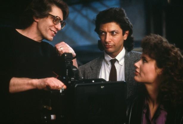 Geena Davis,Jeff Goldblum
