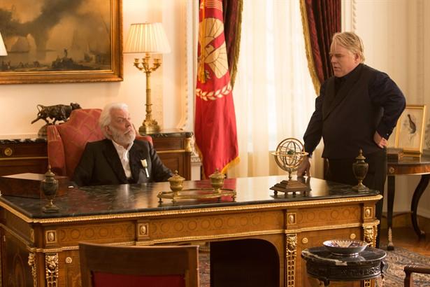 Donald Sutherland,Philip Seymour Hoffman
