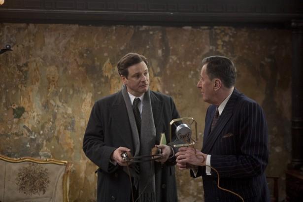 Colin Firth,Geoffrey Rush