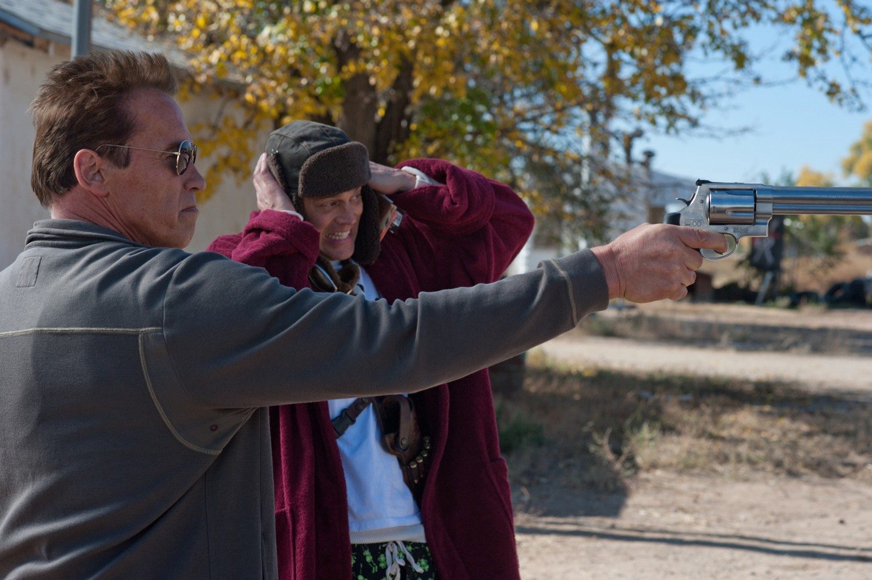 Arnold Schwarzenegger,Johnny Knoxville
