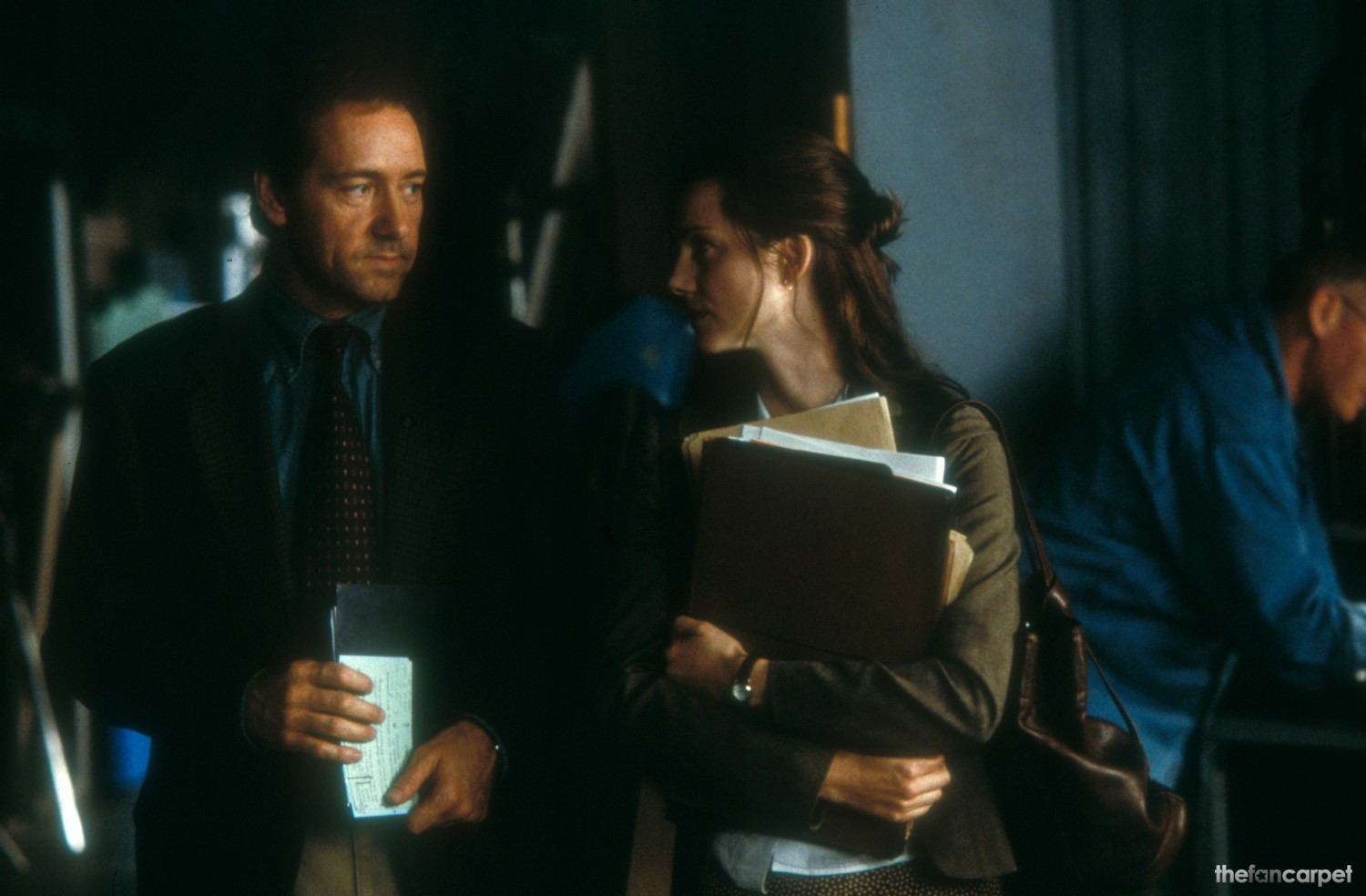 Kevin Spacey,Laura Linney
