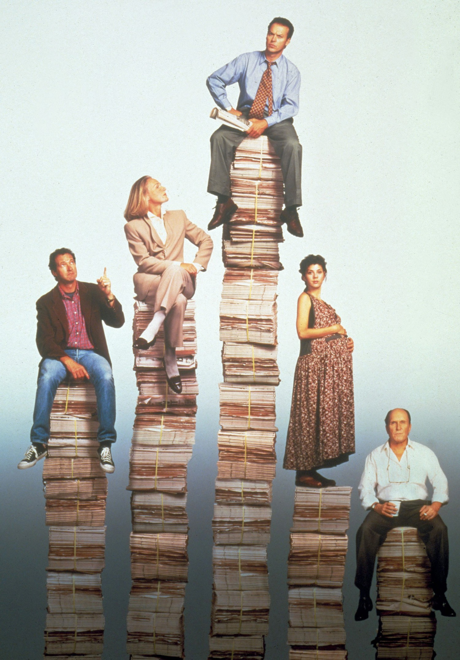 Glenn Close,Marisa Tomei,Michael Keaton,Randy Quaid,Robert Duvall
