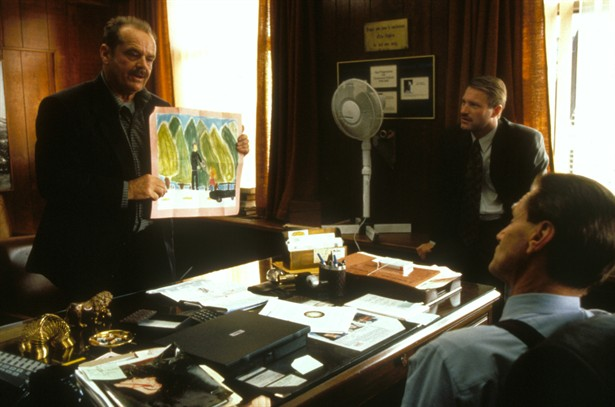 Aaron Eckhart,Jack Nicholson