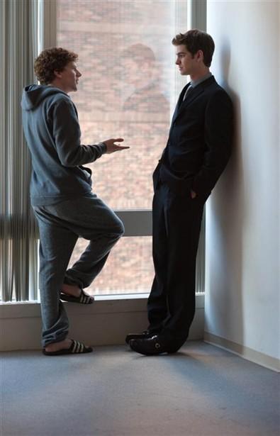 Andrew Garfield,Jesse Eisenberg