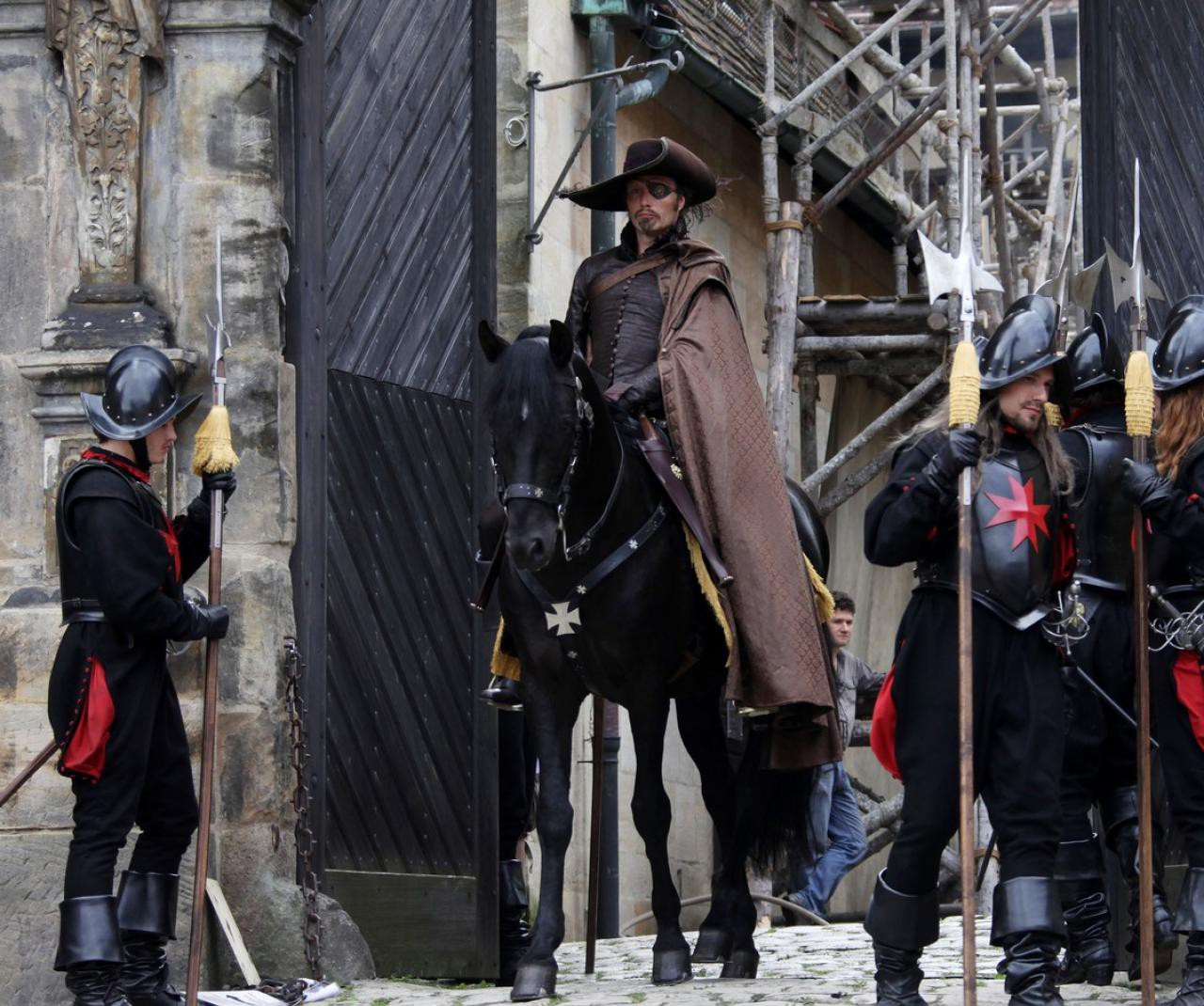 The Three Musketeers in 3D