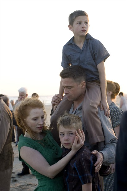 Brad Pitt,Jessica Chastain