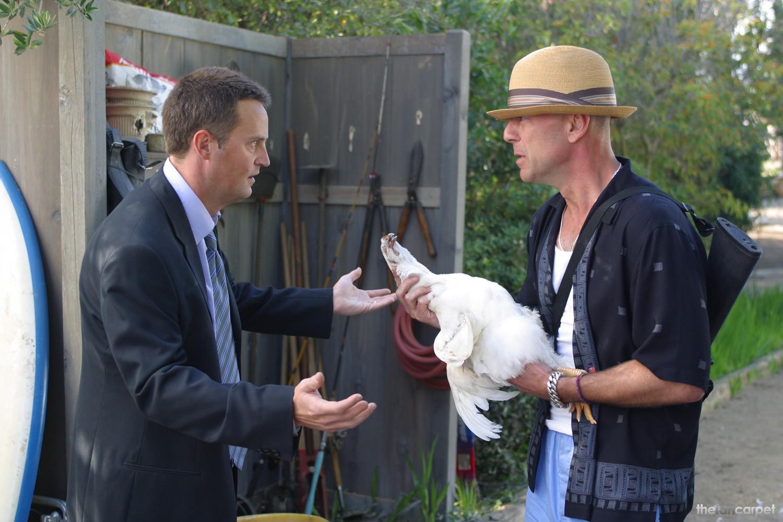 Bruce Willis,Matthew Perry