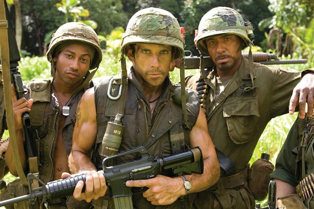 Ben Stiller,Brandon T Jackson,Robert Downey Jr.