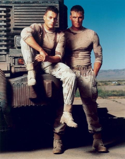 Dolph Lundgren,Jean-Claude Van Damme