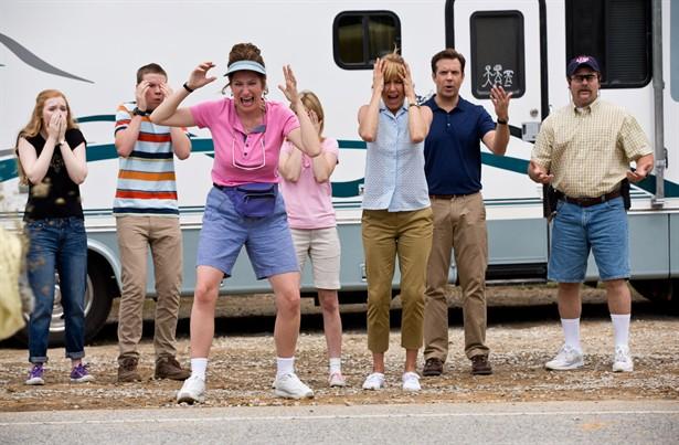 Emma Roberts,Jason Sudeikis,Jennifer Aniston,Kathryn Hahn,Will Poulter