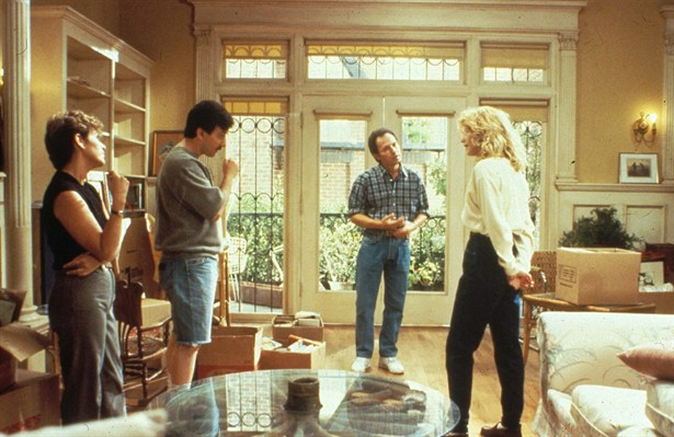 Billy Crystal,Bruno Kirby,Carrie Fisher,Meg Ryan