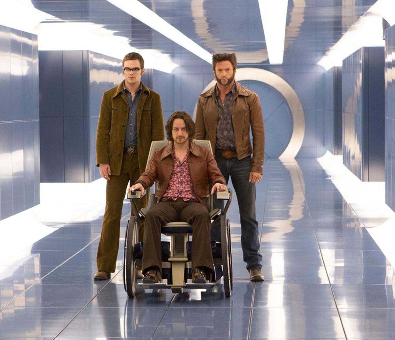 Hugh Jackman,James McAvoy,Nicholas Hoult