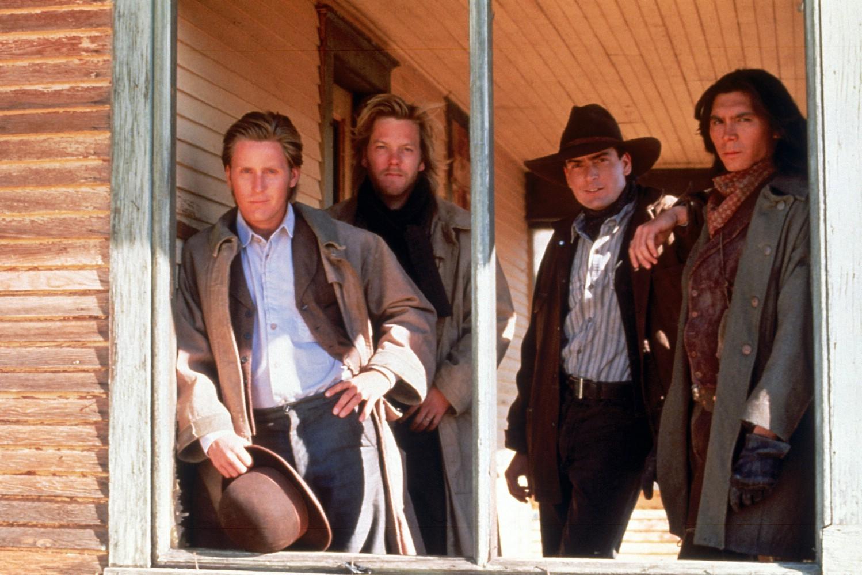 Charlie Sheen,Emilio Estevez,Kiefer Sutherland,Lou Diamond Phillips