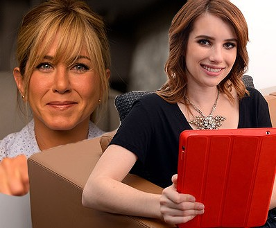 Emma Roberts Reveals Jennifer Aniston Is An Amazing Pole Dancer In We Re The Millers The Fan Carpet
