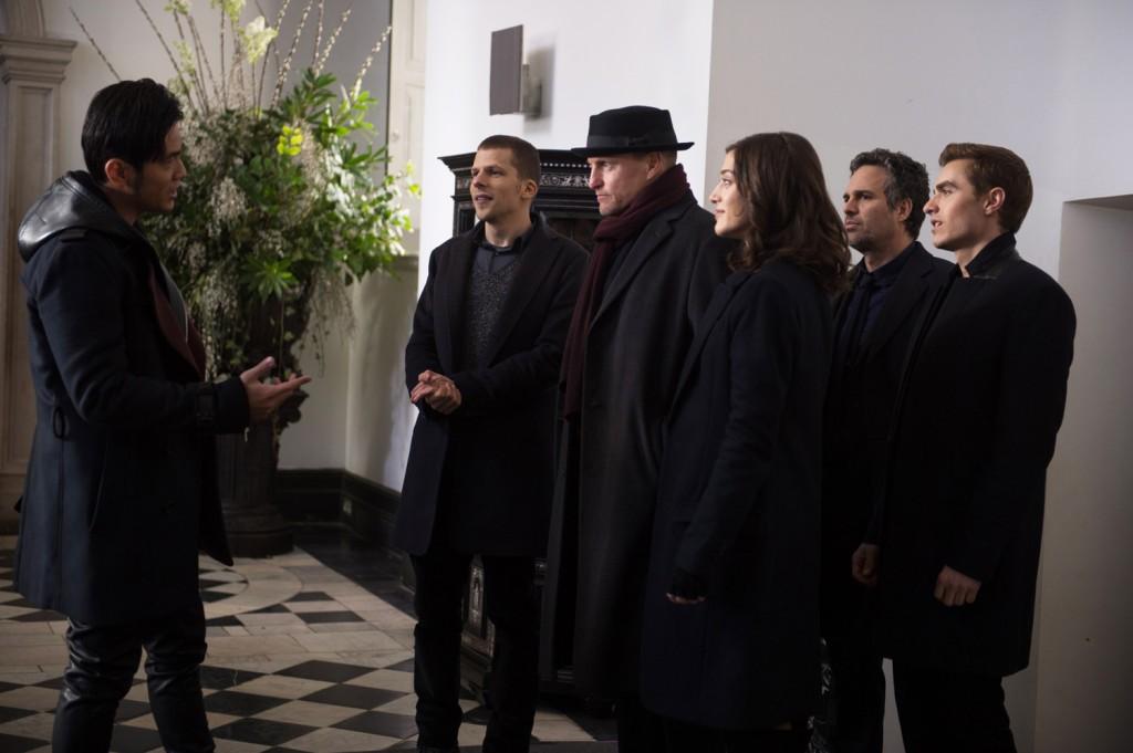 Dave Franco, Jesse Eisenberg, Lizzy Caplan, Mark Ruffalo, Woody Harrelson