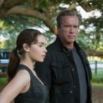 Emilia Clarke, Arnold Schwarzenegger