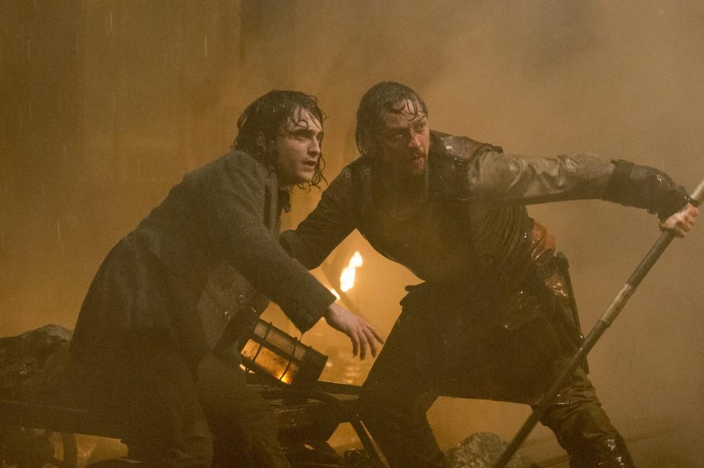 Daniel Radcliffe, James McAvoy