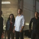 Chris 'Ludacris' Bridges, Michelle Rodriguez, Paul Walker, Tyrese Gibson