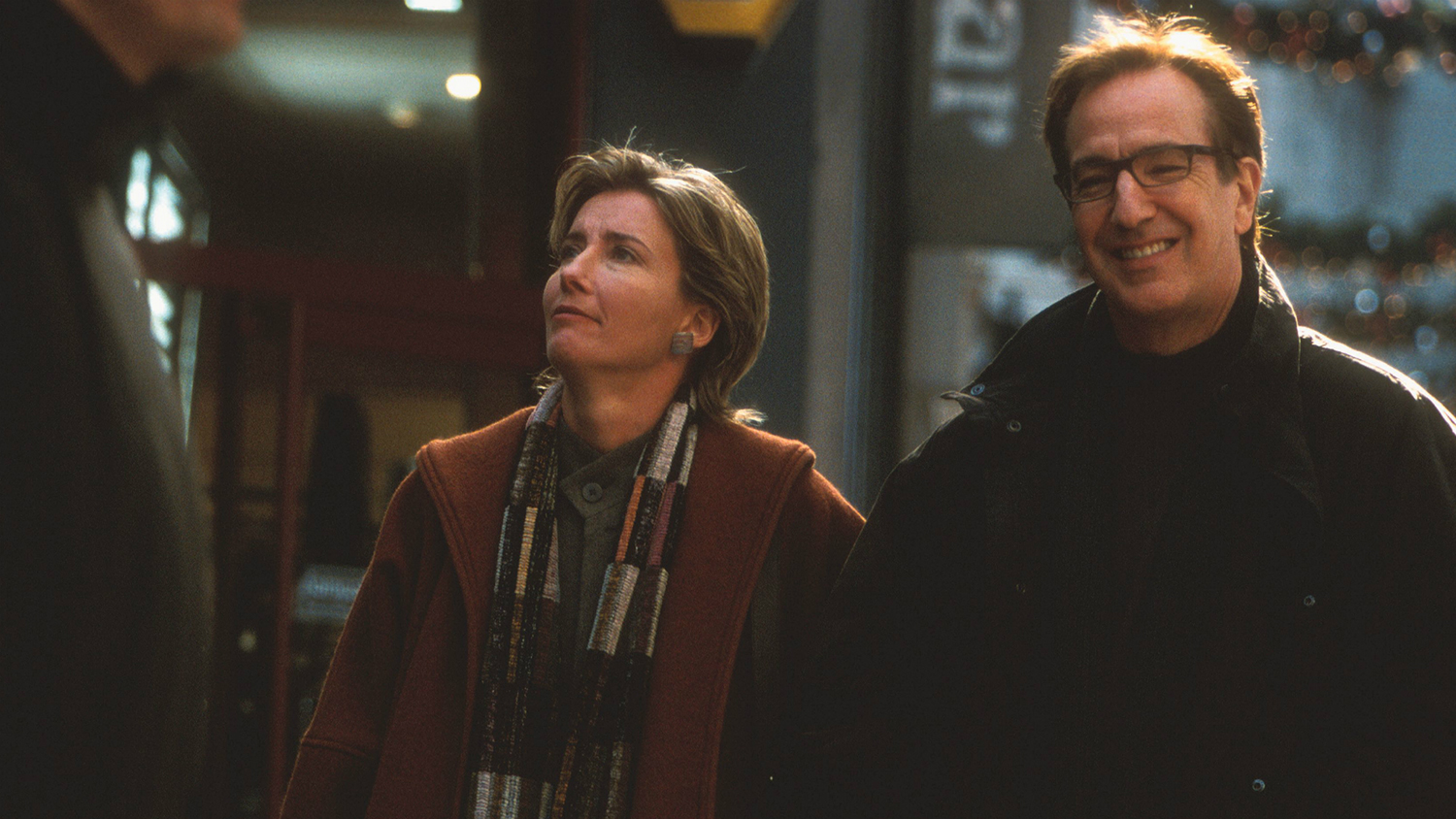 Emma Thompson, Alan Rickman