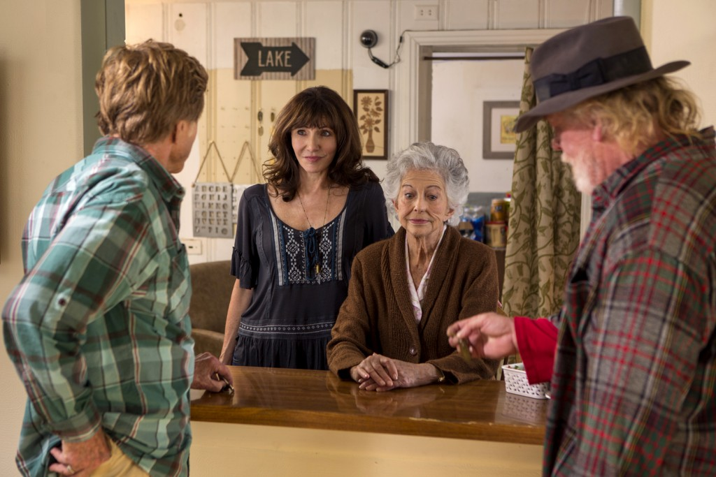 Robert Redford, Nick Nolte, Mary Steenburgen