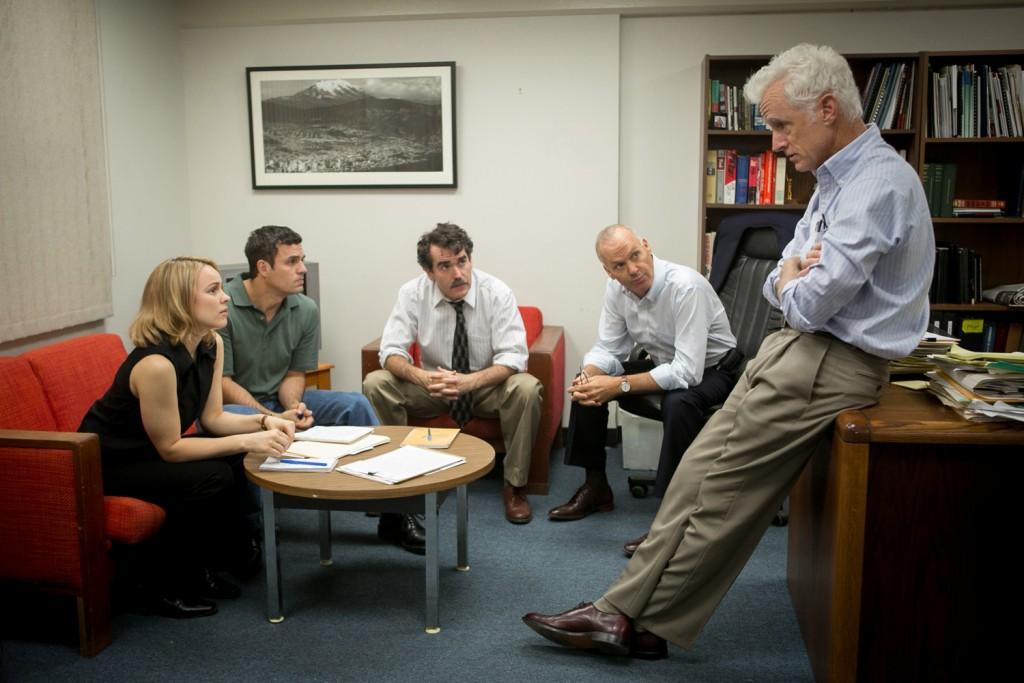 Michael Keaton, Mark Ruffalo, John Slattery, Rachel McAdams