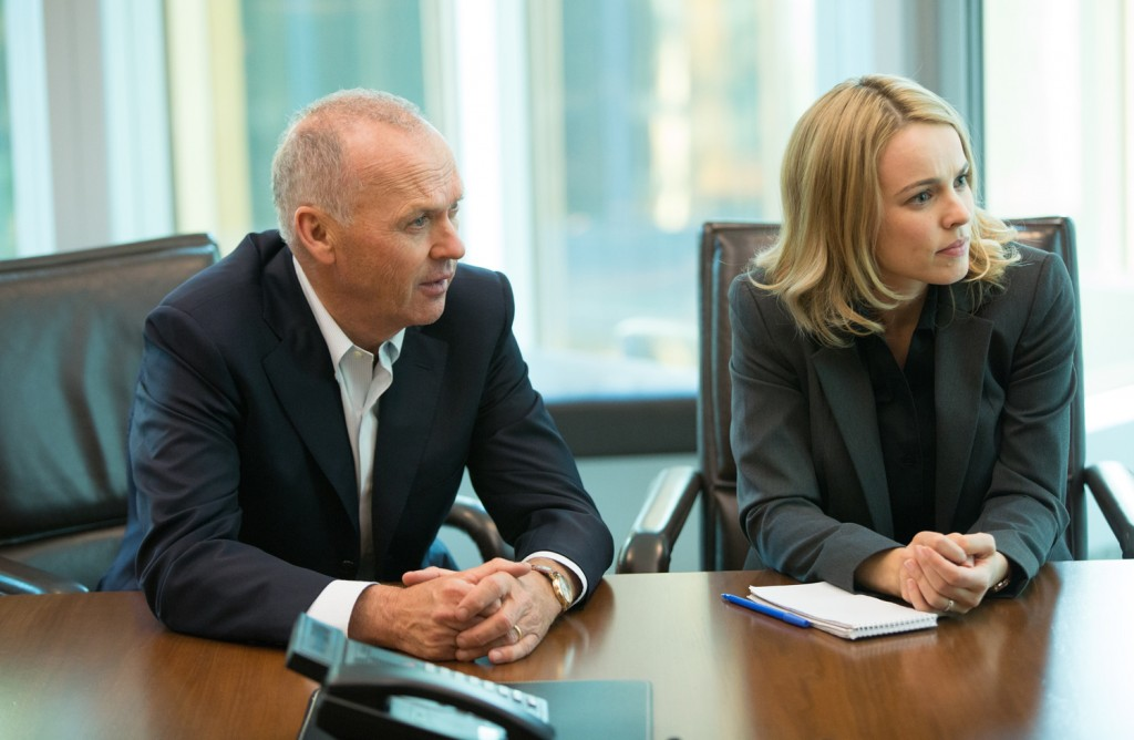 Michael Keaton, Rachel McAdams