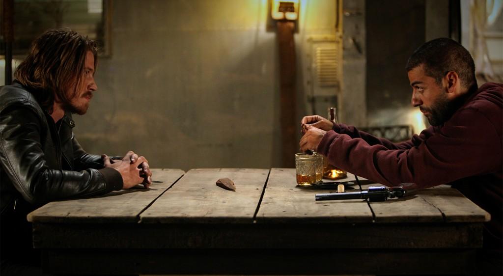 Oscar Isaac, Garrett Hedlund