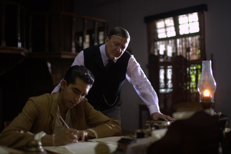 Dev Patel, Stephen Fry
