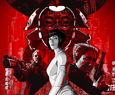 Dreamworks Unveil The Latest Poster For Rupert Sanders Ghost In The Shell Featuring Scarlett Johansson The Fan Carpet
