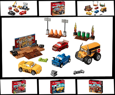 Lightning Mcqueen Strikes Again With Seven New Lego Juniors Sets Featuring Disney Pixar Cars 3 From Filmmaker Brian Fee The Fan Carpet