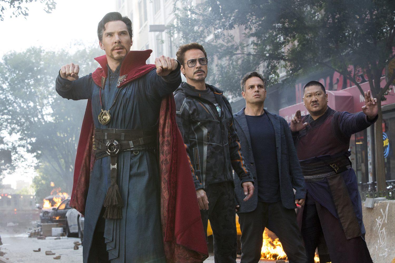 Benedict Cumberbatch, Mark Ruffalo, Robert Downey Jr.