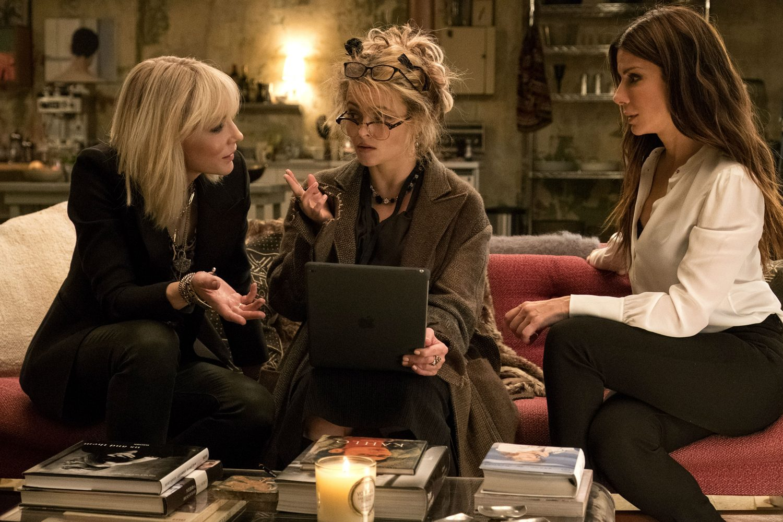 Sandra Bullock, Helena Bonham Carter, Cate Blanchett