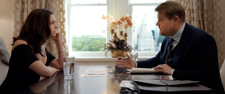 Anne Hathaway, James Corden