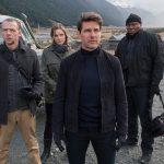 Simon Pegg, Tom Cruise, Rebecca Ferguson, Ving Rhames