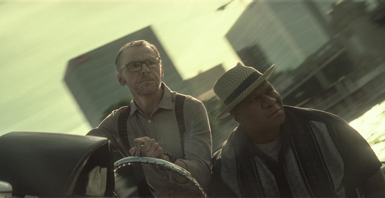 Simon Pegg, Ving Rhames