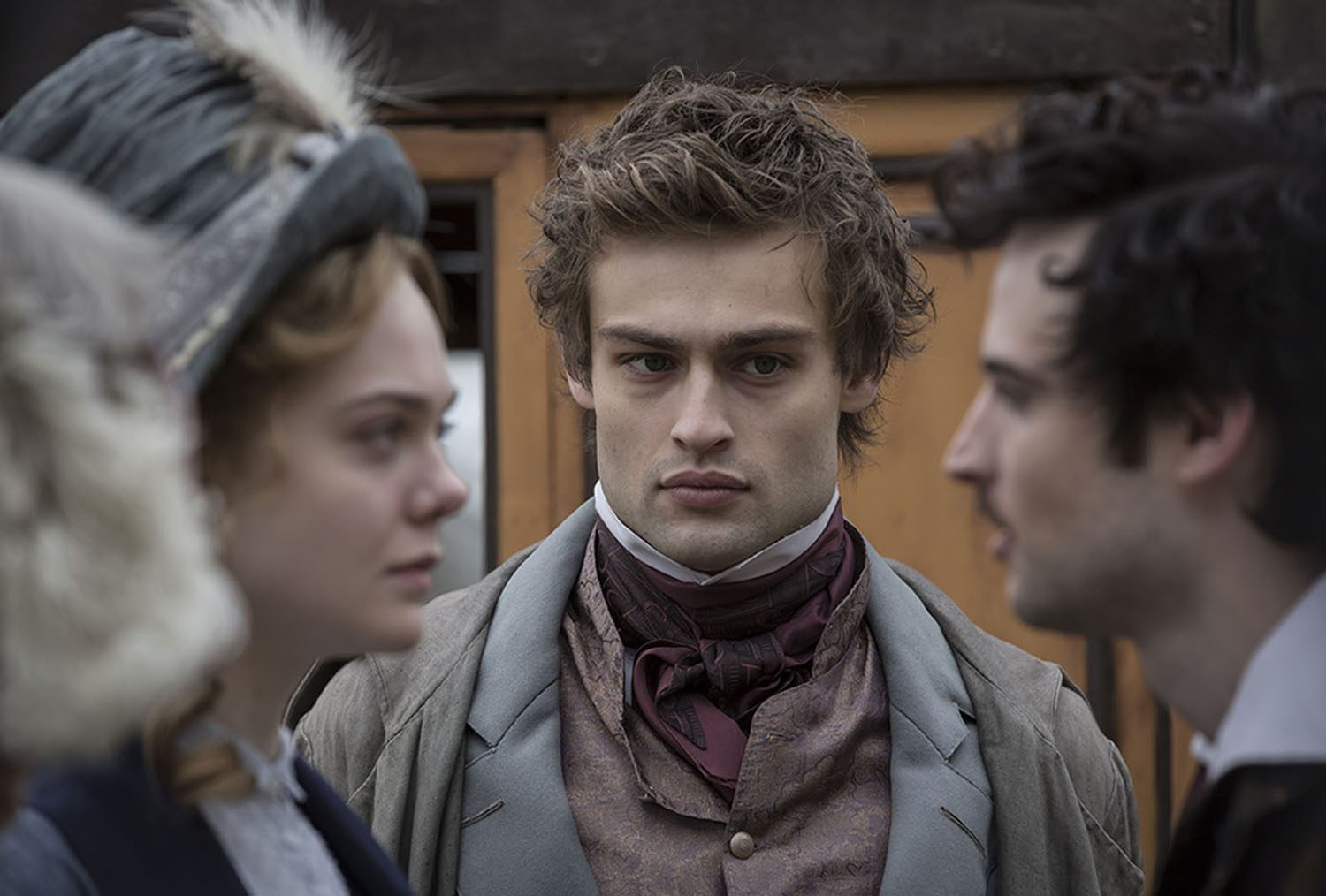 Elle Fanning, Douglas Booth, Tom Sturridge