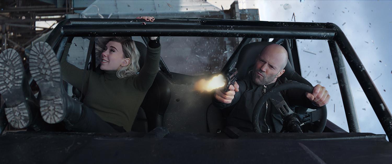 Vanessa Kirby, Jason Statham