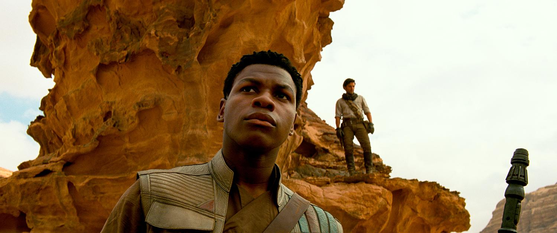 John Boyega, Oscar Isaac