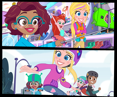 DHX Media + Mattel Greenlight More POLLY POCKET With Season ...