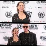 The Fan Carpet's Aoife Marie spoke EXCLUSIVELY to Sadie Frost about her Short Film RUNNING MAN at Raindance Film Festival