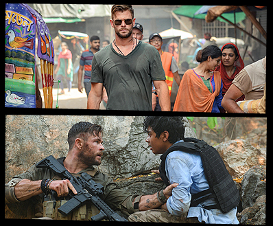 First Look Photos Date Announced For Netflix Original Film Extraction From Director Sam Hargrave Starring Chris Hemsworth The Fan Carpet
