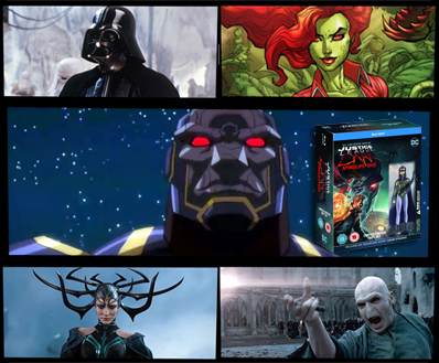 Take Justice League Dark Apokolips War Home On Dvd On Monday May 18 The Most Iconic Supervillains Of All Time The Fan Carpet